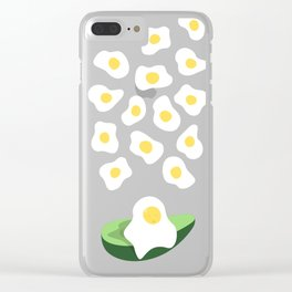 Happy Egg Clear iPhone Case