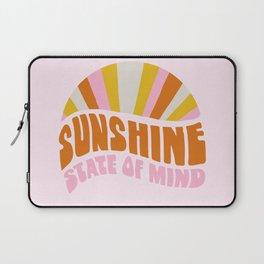 sunshine state of mind, type Laptop Sleeve