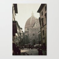 florence Canvas Prints featuring Florence by poki4