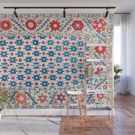 Kermina Suzani Uzbekistan Embroidery Print Wall Mural