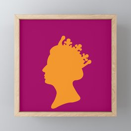 The Peoples Queen Framed Mini Art Print