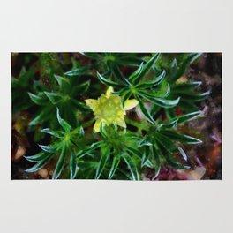 Little yellow flower Rug