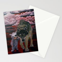 Imposter Syndrome Stationery Cards