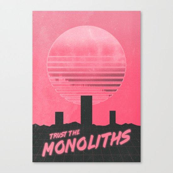 Monolithic Trust Canvas Print