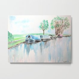 Canal journey Metal Print