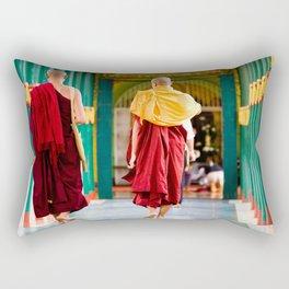 Monaci, Myanmar Rectangular Pillow