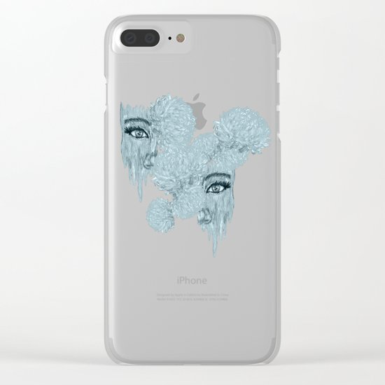 Haze Clear iPhone Case