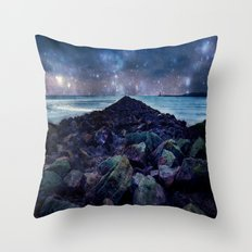 Rocky Road to Eternity Throw Pillow
