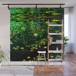 the Water Lilly Wall Mural