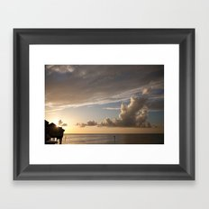 Clearwater Sunset Framed Art Print