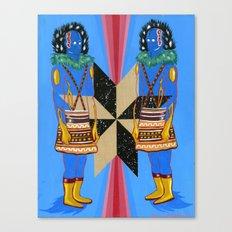SPACE GODS Canvas Print