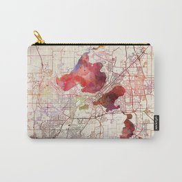 Madison map Carry-All Pouch