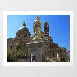 Cathedrale of PALERMO Art Print