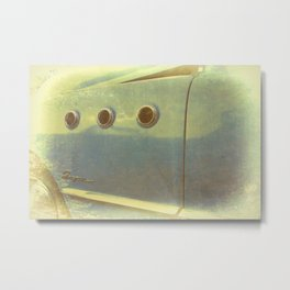 Classic Car Three Hole Buick Metal Print