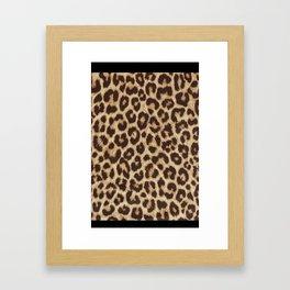 Leopard Pattern - Cheetah Pattern Framed Art Print