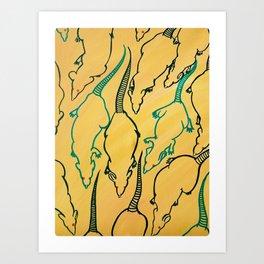 Rat Hoard Art Print