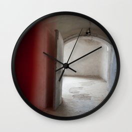 Colored entrance Wall Clock