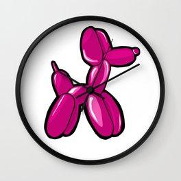 Balloon Dog Wall Clock