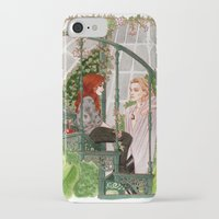 mortal instruments iPhone & iPod Cases featuring The Mortal Instruments by Naineuh