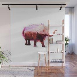 Happy Elephant Wall Mural