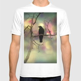 Crow Dreams In Colors T-shirt