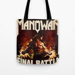 manowar final battle world tour 2019 putro Tote Bag