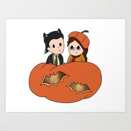 Tasertricks Halloween 2015 Art Print