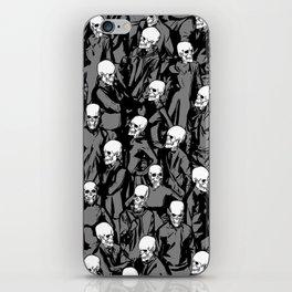 Skull Society iPhone Skin