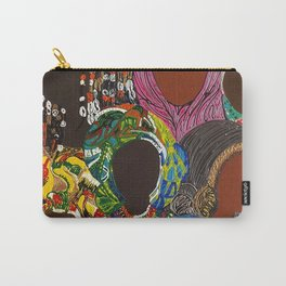 African Muslima Queens by Kelly Izdihar Crosby Carry-All Pouch