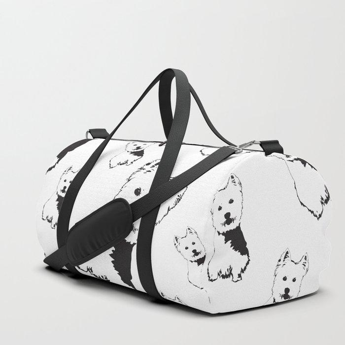 WEST HIGHLAND TERRIER Duffle Bag