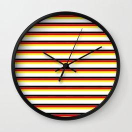 Mariniere and Flag - Germany Wall Clock