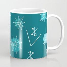 Mid Century Modern Sputnik Starburst Planets 3 Coffee Mug