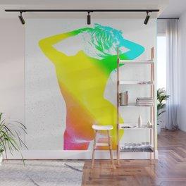 Carefree Nude Rainbow Wall Mural