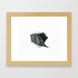 lo mein Framed Art Print