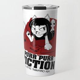 Purr Purr Fiction Travel Mug