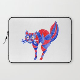 Watercolor Art | Scaredy Cat Laptop Sleeve