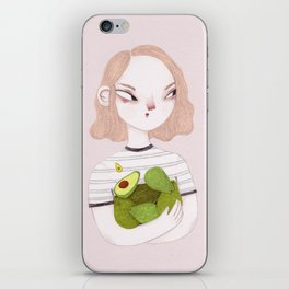 Eat Avocados Not Animals iPhone Skin