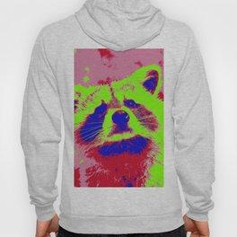 Pop Art Raccoon Hoody