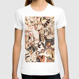 Mosaic field T-shirt