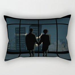 A very strange time Rectangular Pillow