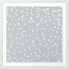 simple stars | elliott bryan | Art Print