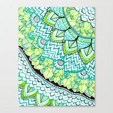 Sharpie Doodle 3 Canvas Print