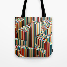 Stretched Pattern Tote Bag