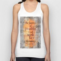 friendship Tank Tops featuring Friendship by LebensART