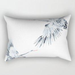 Cranes Rectangular Pillow