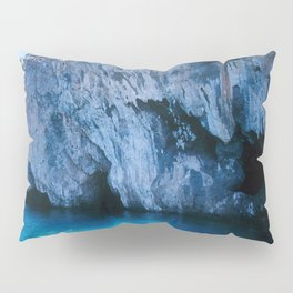 NATURE'S WONDER #5 - BLUE GROTTO (Turkey) #2 #art #society6 Pillow Sham