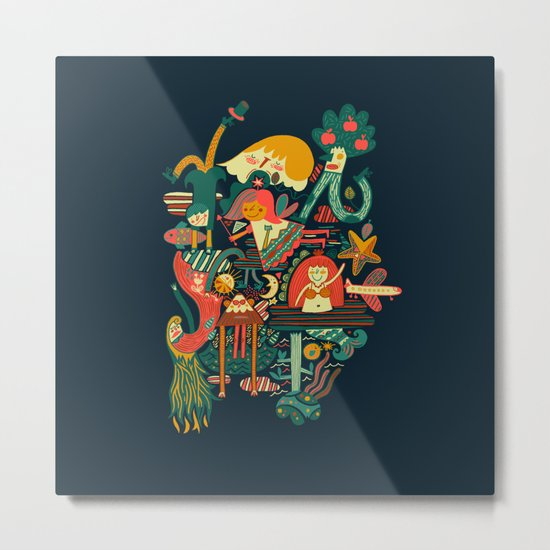Crazy dream Metal Print