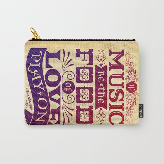 Food of Love  Carry-All Pouch