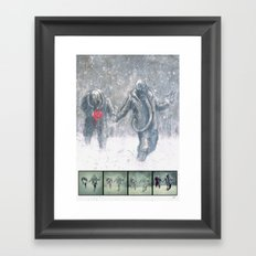 Brothers (Process) Framed Art Print
