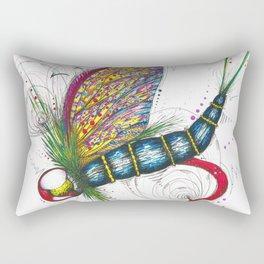 Mayfly Madness Rectangular Pillow
